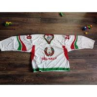Хоккейный свитер сборной Беларуси Андрей Новиков