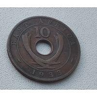 Британская Восточная Африка 10 центов, 1933 7-8-29