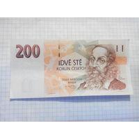 Чехия 200крон 1998г.