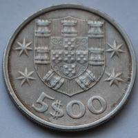 Португалия, 5 эскудо 1974 г