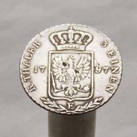 Пруссия 1/3 талера 1797 Король Фридрих Вильгельм II м.д.Кёнигсберг