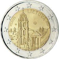 2 евро Литва 2017 Вильнюс. Из ролла