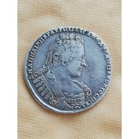 1 рубль Анна Иоановна 1733г.,серебро.