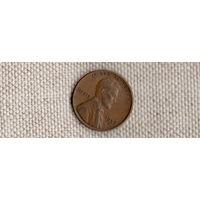США 1 цент пшеница 1952D (Uss)