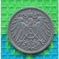 Германия 10 пфеннигов 1900 года. Монетный двор Е.
