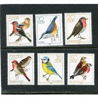ГДР. Певчие птицы, вып.1079