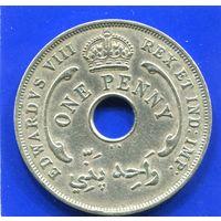 Британская Западная Африка 1 пенни 1936 KN