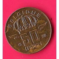44-20 Бельгия, 50 сантимов 1998 г.