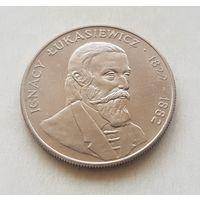 50 злотых 1983 Польша  Польские ученые - Игнатий Лукашевич