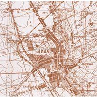 Карты Гродненской губернии. 250-метровки+привязка