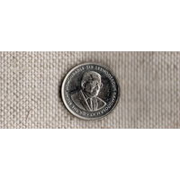 Маврикий 20 центов 2004 //(Sx)