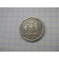 Ямайка 5 долларов 1996г.km163