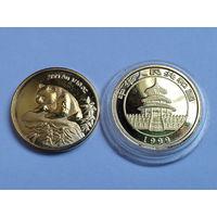 "Монета ""панда"" 1 унция 1999г. Китай. распродажа"