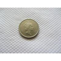 1 доллар 1990 г., Гонконг .
