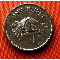 113-25 Сейшелы, 1 рупия 1997 г.
