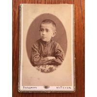 Фото, кабинет-портрет, Вальдман, Пенза, 1890-е