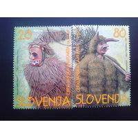 Словения 1997 традиционные костюмы полная серия
