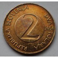 Словения, 2 толара 2004 г.