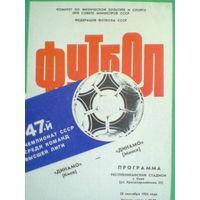 1984 год Динамо Киев--Динамо Минск