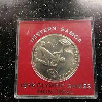 1976 г Самоа 1 доллар Олимпиада