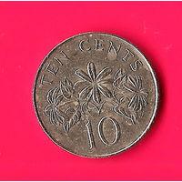 11-41 Сингапур, 10 центов 1987г.