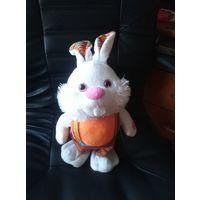 Игрушка кролик музыкальная ходит с танцем