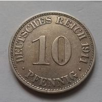 10 пфеннигов, Германия 1911 A