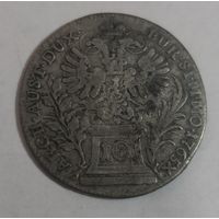 10 крейцеров 1765 г. Австрия. Серебро.