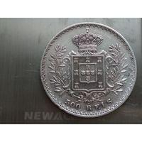 Португалия 500 рейс 1892 серебро