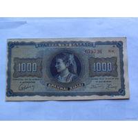 Греция 1000 драхм 1942 год      675736   распродажа