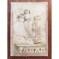 Фото Сажина, кабинет-портрет, 1890-е