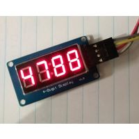 Модуль LED часы (TM1637)