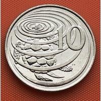 119-08 Каймановы острова, 10 центов 2005 г.