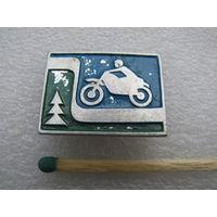 Значок. Мотоцикл. Мотоспорт. (1)
