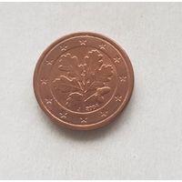 1 евроцент 2004 Германия J