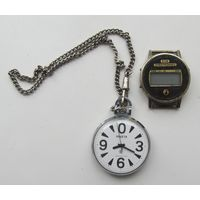 Часы Ракета(Парусник)+Электроника 52Б,не частые,СССР,С РУБЛЯ