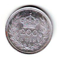 Португалия. 200 рейс 1909 г.