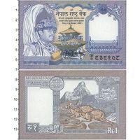 Непал 1 рупия. UNC  распродажа