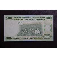 Руанда 500 франков 2008 UNC