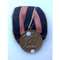 """Медаль """"В память 1 октября 1938 года"""" ( Судеты)."""