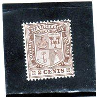 Маврикий.Ми-132. Герб Маврикия. 1910.
