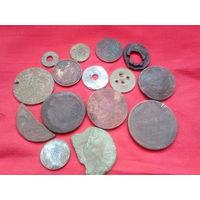 Монеты....были:(