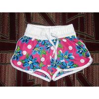 Супер красивые шорты для девочки2-4 года