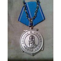 Ушаков.медаль.колодка с цепью.