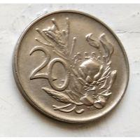 ЮАР 20 центов, 1974 3-2-13