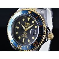 Часы INVICTA Grand Diver, механические, автоподзавод, керамический безель, водозащита 30 Атм (300 м). Новые. Made in USA.