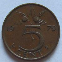 Нидерланды, 5 центов 1979 г