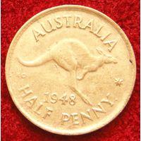 7427:  1/2 пенни 1948 Австралия