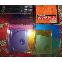 Футляры для 1 CD диска-24 штуки