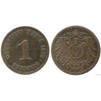 YS: Германия, Рейх, 1 пфенниг 1898A, KM# 10 (1)